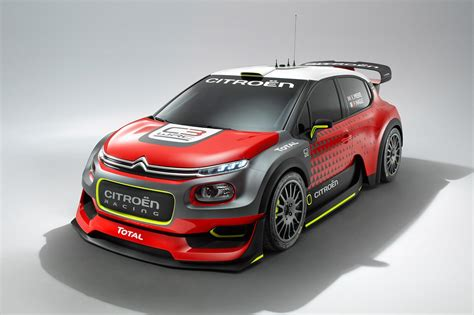 Citroen Rally Car by New 2017 Citroen C3 Wrc Concept Unveiled By Car Magazine