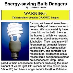 gallery for gt energy saving light bulbs danger