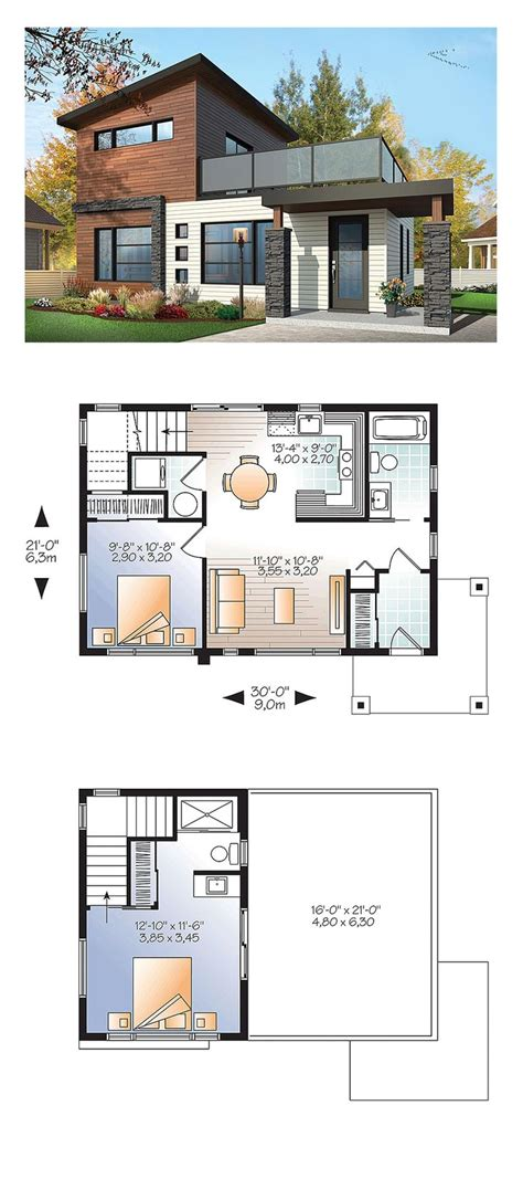 small modern house designs and floor plans 25 best ideas about modern house plans on