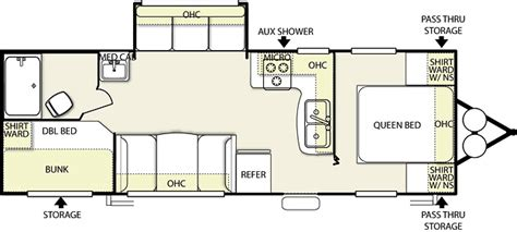 wildwood rv floor plans wildwood travel trailer model t27rbs by forest river inc