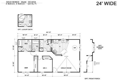 house plans with basement 24 x 44 us golden west homes from the home boys the home boys