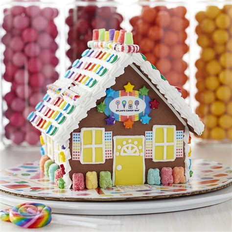 dylans candy bar chocolate cookie gingerbread house wilton