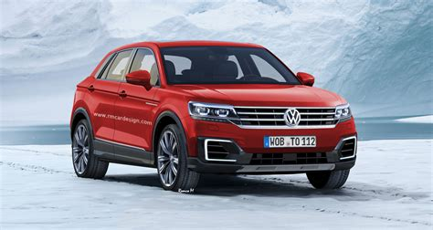 volkswagen small suv rendered polo companion likely for