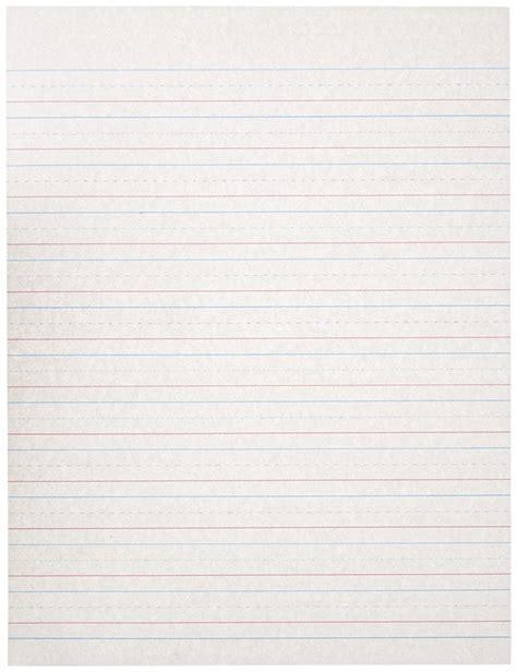 handwriting paper primary writing paper