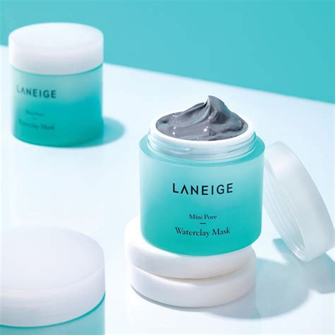 Toner Laneige skincare mask mini pore water clay mask 70ml laneige my