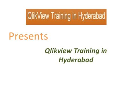 Qlikview Tutorial In Hyderabad | qlikview training in hyderabad
