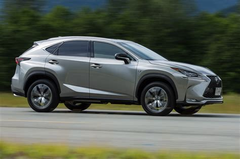 first lexus lexus nx200t f sport first drive review
