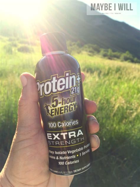 protein 5 hour energy 7 tips for beginning hikers