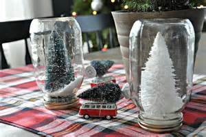 Homemade Outside Christmas Decorations Bottle Brush Tree Place Card Dare To Diy Decor And The Dog