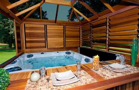 hot tub backyard design ideas outdoor hot tub privacy ideas pool design ideas