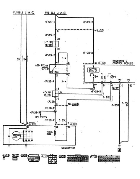 jeep alternator wiring diagram with 4 wire in