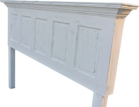 distressed white headboard pin antique wood bed rails pictures on