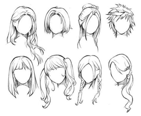 anime hairstyles female tutorial best 25 hair reference ideas on pinterest