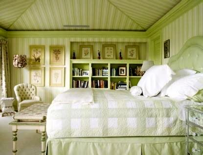 glam pad  gorgeous green  white bedrooms
