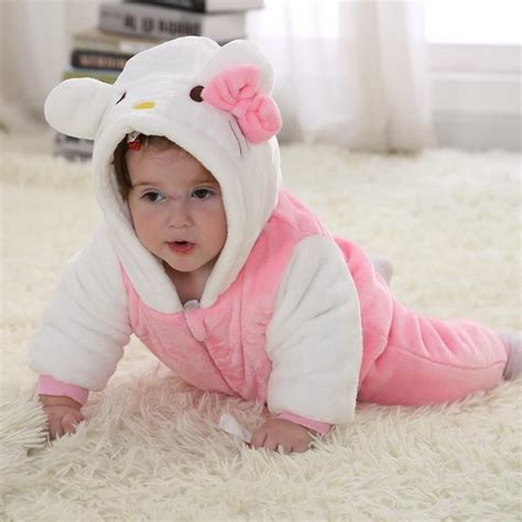 Sale Setelan Jumpsuit Hellokitty Size 2 4 6 Pineapple hello winter type unisex playsuits romper toddlers jumpsuit baby for newborn