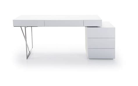 Modern Desks With Drawers Loft Modern Office Desk Loft Computer Desk J M Furniture Office Desk In White