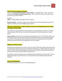 research design proposal template october 22 2014 final