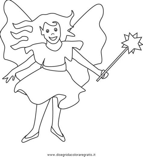 canilla dibujos colorear hadas disney dibujos de disegno bacchetta magica 03 categoria fantasia da colorare