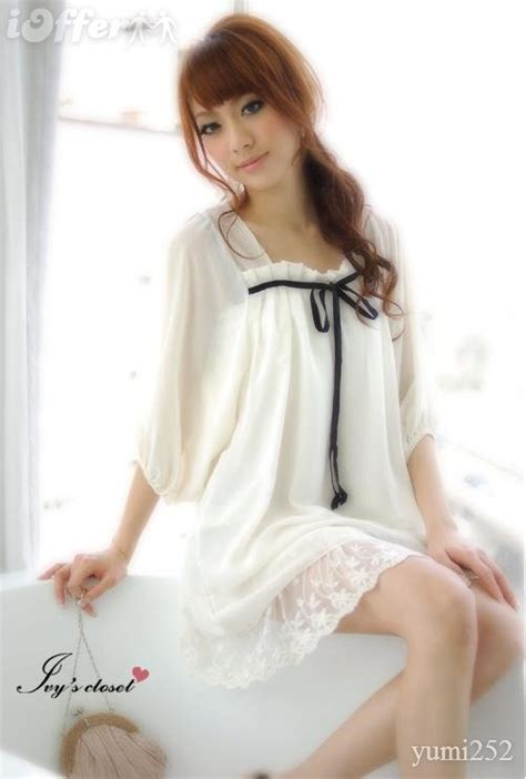 New Korean Style Blouse Chiffon Combination With Mote fashion baju modern newhairstylesformen2014