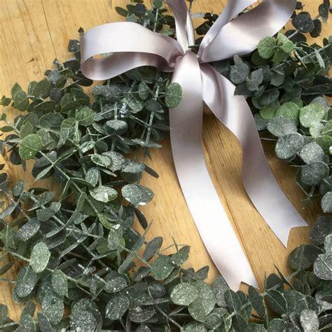 artificial wreaths uk artificial eucalyptus wreath by funky bunch