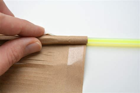 Things We Can Make With Paper - glow stick broomsticks
