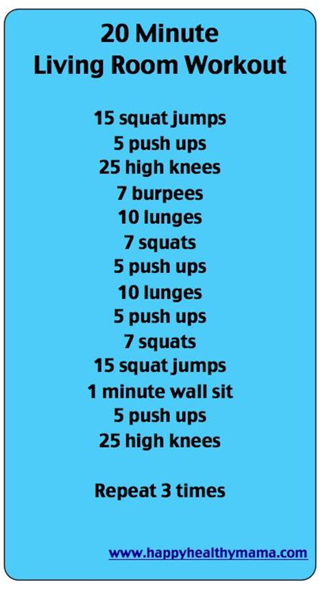 at home work out plan 10 workouts to do at home