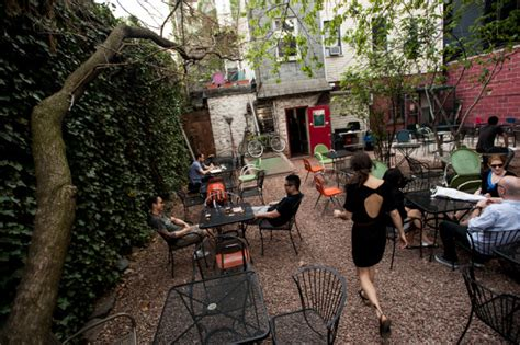 backyard bar brooklyn outdoor drinks bars for beer lovers