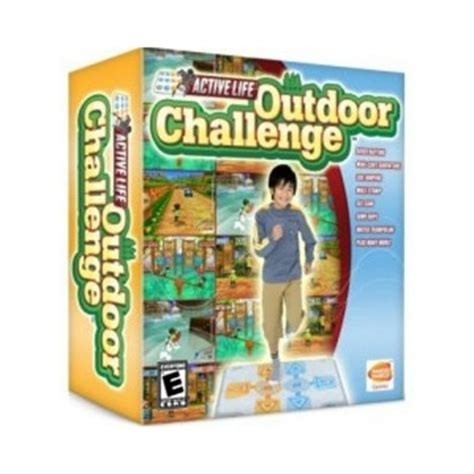 Wii Active Mat by Active Outdoor Challenge With Mat Wii At