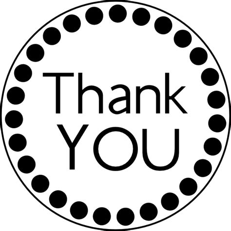 circle thank you card templates free printable sentiments for handmade cards