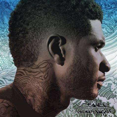usher south of france haircut usher looking 4 myself album cover track list