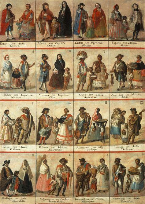 mestizo castas de pinturas ab laeva rite probatum miguel cabrera y la pintura de castas