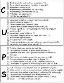 Self Editing Checklist For Literature Review by 25 Best Ideas About Editing Checklist On Narrative Anchor Chart Writing Checklist