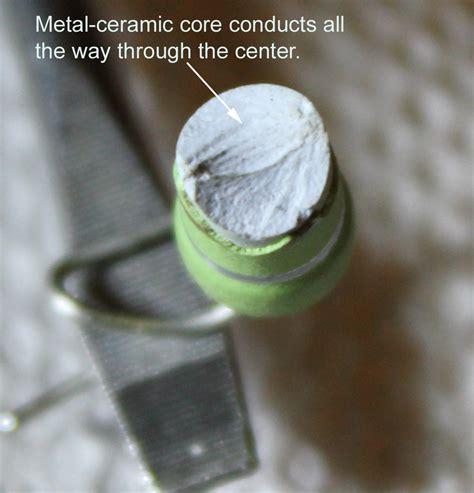 ceramic composite resistor beverage antenna construction