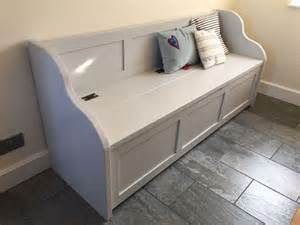 House Bench Seat Storage Best 25 Hallway Storage Bench Ideas On