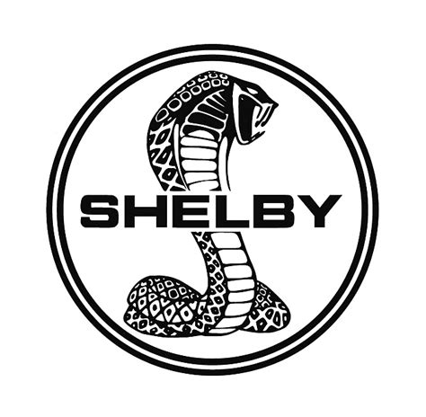 car logo black and white large shelby car logo zero to 60 times
