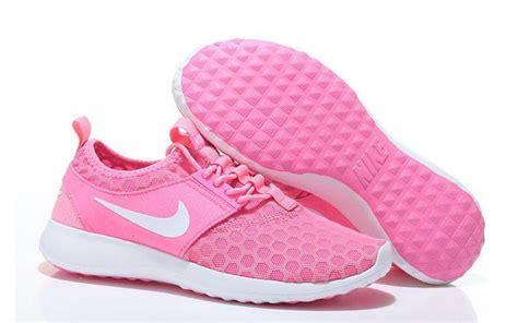 So192 Nike Slip On Pink Green green pink womens nike roshe run slip shoes