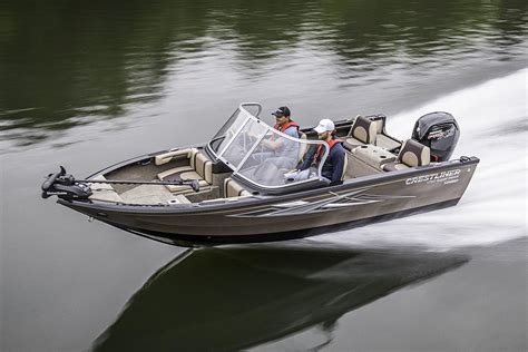 crestliner boats specifications crestliner 1750 super hawk boats for sale boats