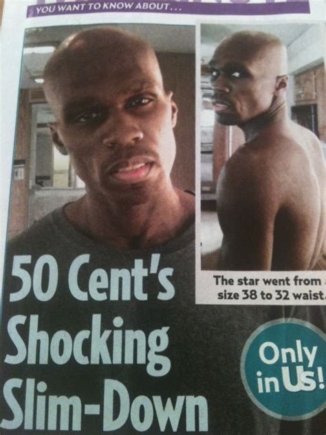 must see 50 cent s shocking weight loss farai today