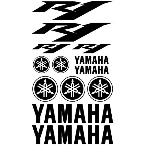 Yamaha Yzf R1 Aufkleber by Wallstickers Folies Yamaha R1 Decal Stickers Kit