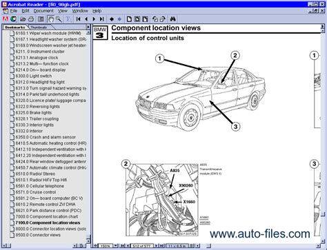 vehicle repair manual 2002 bmw 525 head up display bmw electrical troubleshooting manual e36 repair manuals download wiring diagram electronic