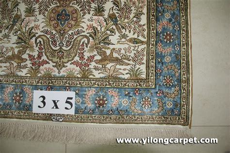 rugs 3x5 size size 3x5 handmade silk rug b13 3x5 yilong china manufacturer carpet household