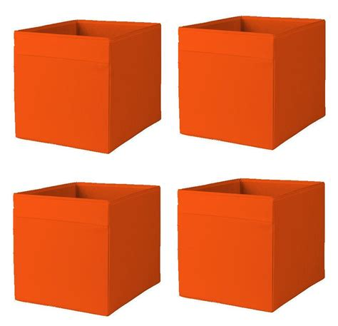 ikea filing storage boxes 1 2 or 4x ikea drona storage box organiser expedit unit
