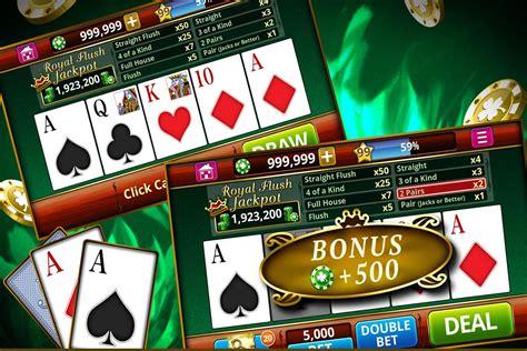 video poker offline  apk   casino game  android apkpurecom
