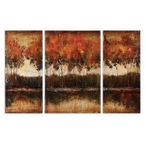 wall paintings trilakes canvas wall art set of 3