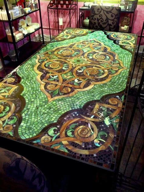 mosaic dining tables 29 best mosaics furniture images on mosaic