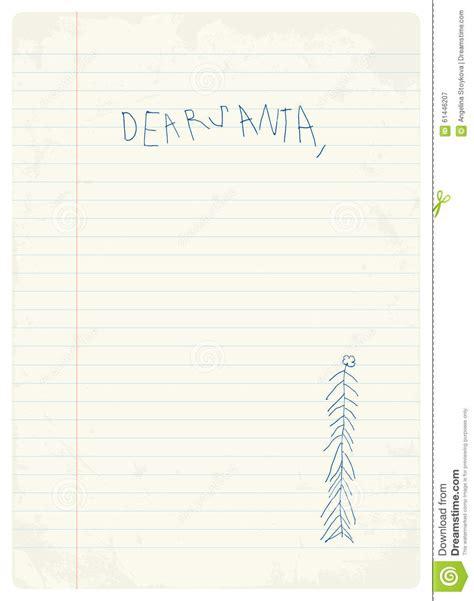 printable handwritten letter from santa handwritten letter to santa from child