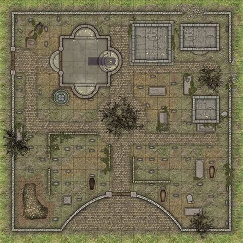 printable rpg games heroic maps day night cemetery heroic maps