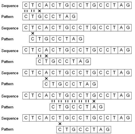 dna pattern matching algorithm cerca de subseq 252 232 ncies 250 niques