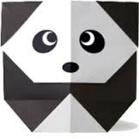 cara membuat origami hewan yang mudah langkah mudah membuat origami binatang panda tutorial