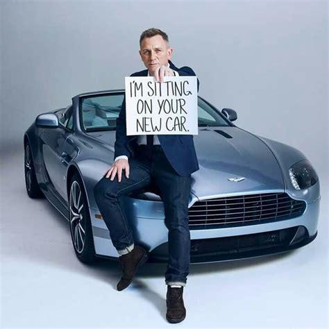 Aston Martin In Bond by Bond Daniel Craig Advertising For Aston Martin